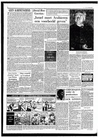 Rotterdamsch Parool / De Schiedammer 1957-05-14