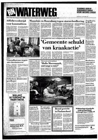 Rotterdamsch Nieuwsblad / Schiedamsche Courant / Rotterdams Dagblad / Waterweg / Algemeen Dagblad 1987-10-19