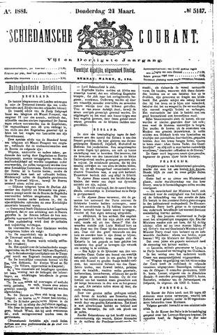 Schiedamsche Courant 1881-03-24