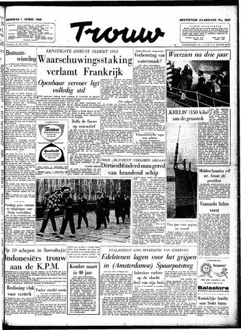 Trouw / De Rotterdammer 1958-04-01