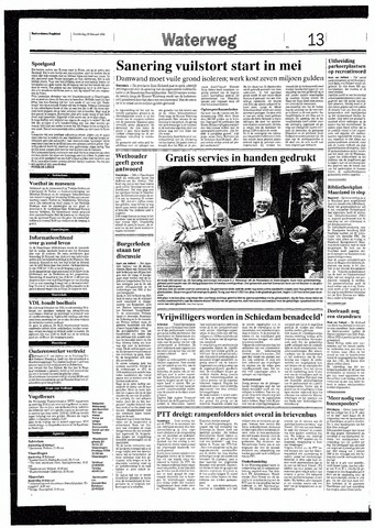 Rotterdamsch Nieuwsblad / Schiedamsche Courant / Rotterdams Dagblad / Waterweg / Algemeen Dagblad 1993-02-18