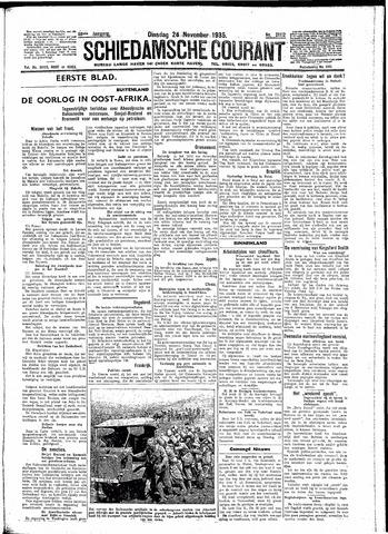 Schiedamsche Courant 1935-11-26