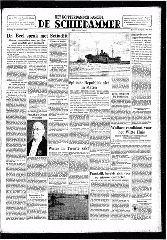 Rotterdamsch Parool / De Schiedammer 1947-12-30