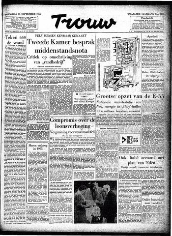 Trouw / De Rotterdammer 1954-09-15
