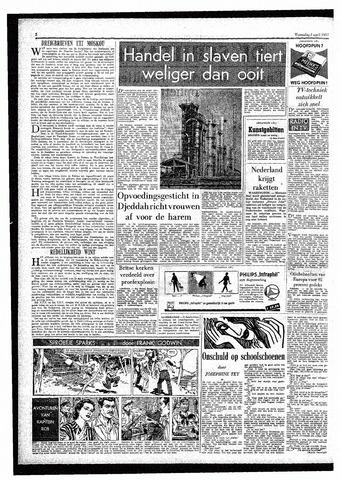 Rotterdamsch Parool / De Schiedammer 1957-04-03