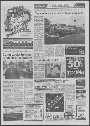 Het Nieuwe Stadsblad 1989-12-22