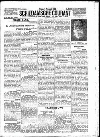 Schiedamsche Courant 1935-02-01