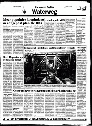 Rotterdamsch Nieuwsblad / Schiedamsche Courant / Rotterdams Dagblad / Waterweg / Algemeen Dagblad 1998-06-16