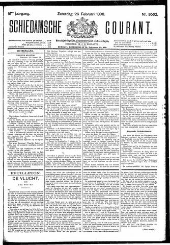 Schiedamsche Courant 1898-02-26