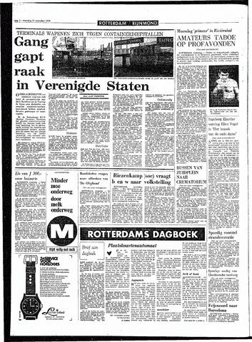Rotterdamsch Parool / De Schiedammer 1970-11-11