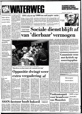 Rotterdamsch Nieuwsblad / Schiedamsche Courant / Rotterdams Dagblad / Waterweg / Algemeen Dagblad 1983-10-13