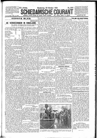 Schiedamsche Courant 1931-10-29