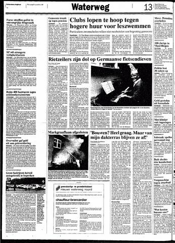 Rotterdamsch Nieuwsblad / Schiedamsche Courant / Rotterdams Dagblad / Waterweg / Algemeen Dagblad 1991-11-20