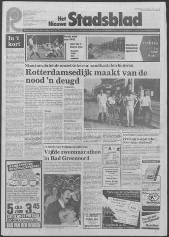 Het Nieuwe Stadsblad 1983-08-31
