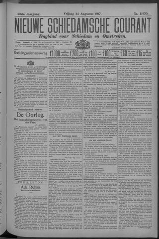 Nieuwe Schiedamsche Courant 1917-08-24
