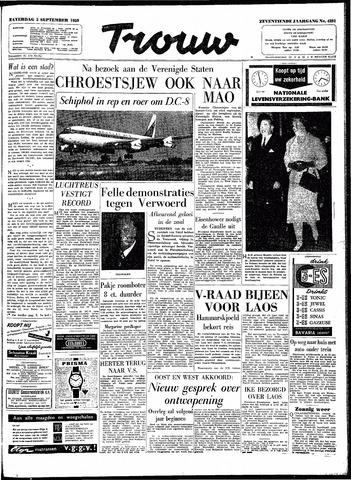 Trouw / De Rotterdammer 1959-09-05