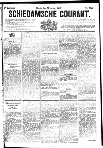 Schiedamsche Courant 1908-01-30