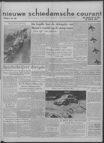 Nieuwe Schiedamsche Courant 1958-07-04