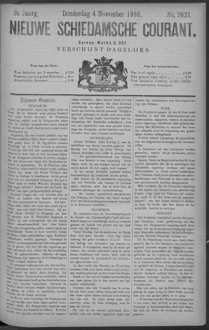 Nieuwe Schiedamsche Courant 1886-11-04