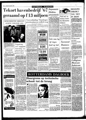 Rotterdamsch Parool / De Schiedammer 1966-11-22