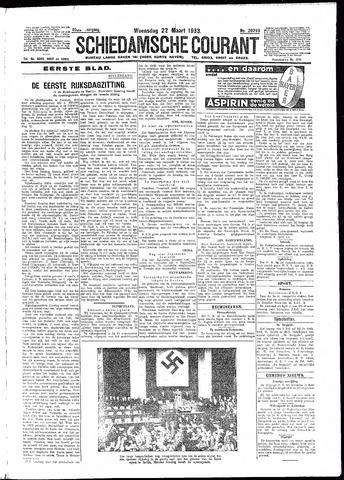 Schiedamsche Courant 1933-03-22