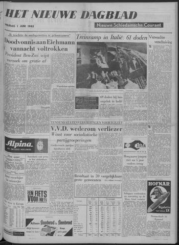 Nieuwe Schiedamsche Courant 1962-06-01