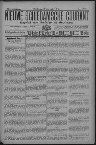 Nieuwe Schiedamsche Courant 1913-11-27