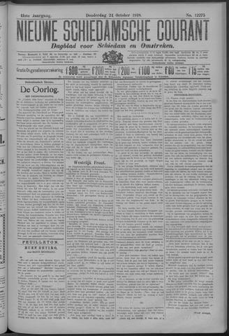 Nieuwe Schiedamsche Courant 1918-10-24