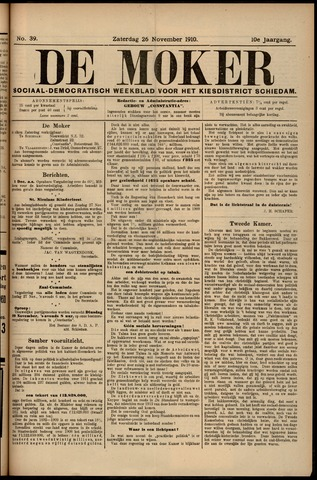 De Moker 1910-11-26