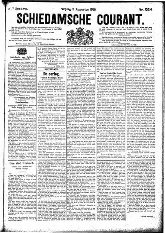 Schiedamsche Courant 1916-08-11