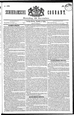 Schiedamsche Courant 1866-11-12