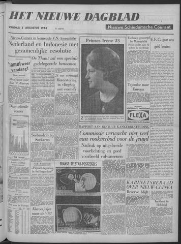 Nieuwe Schiedamsche Courant 1962-08-03