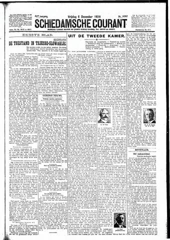 Schiedamsche Courant 1929-12-06