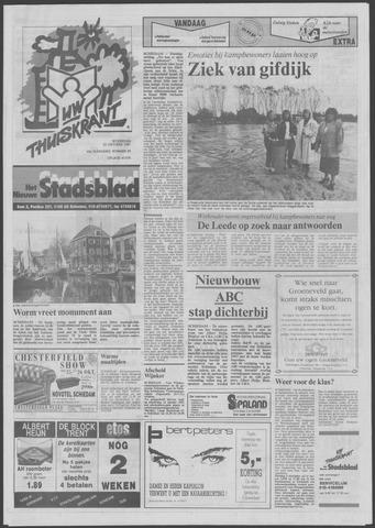 Het Nieuwe Stadsblad 1991-10-23