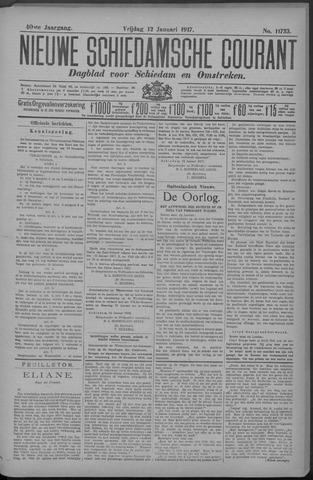 Nieuwe Schiedamsche Courant 1917-01-12