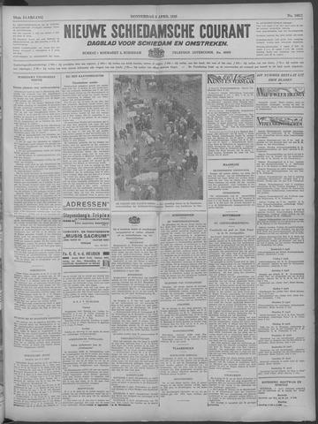 Nieuwe Schiedamsche Courant 1933-04-06