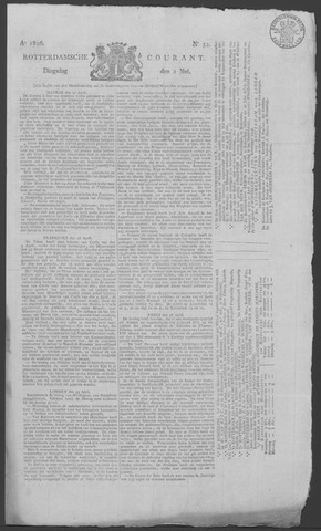 Rotterdamse Courant 1826-05-02