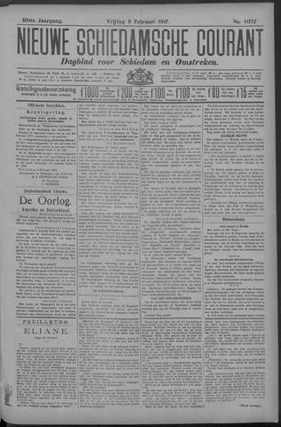 Nieuwe Schiedamsche Courant 1917-02-09