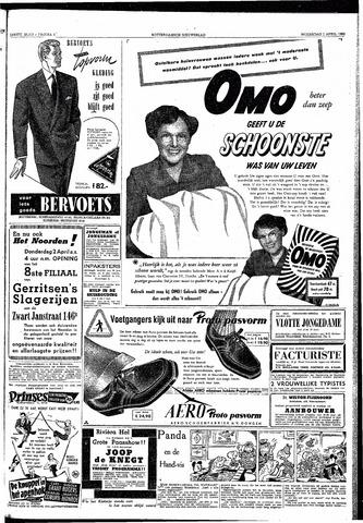 Rotterdamsch Nieuwsblad / Schiedamsche Courant / Rotterdams Dagblad / Waterweg / Algemeen Dagblad 1953-04-01