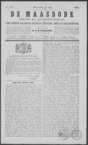 De Maasbode 1853-07-06