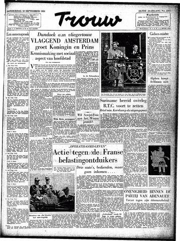 Trouw / De Rotterdammer 1953-09-10