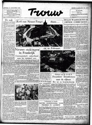 Trouw / De Rotterdammer 1953-08-11