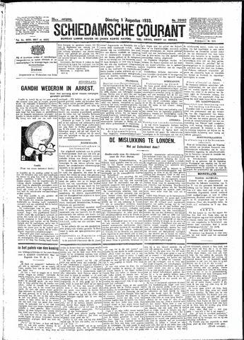Schiedamsche Courant 1933-08-01