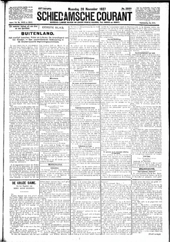 Schiedamsche Courant 1927-11-28