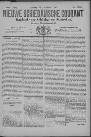 Nieuwe Schiedamsche Courant 1897-11-30