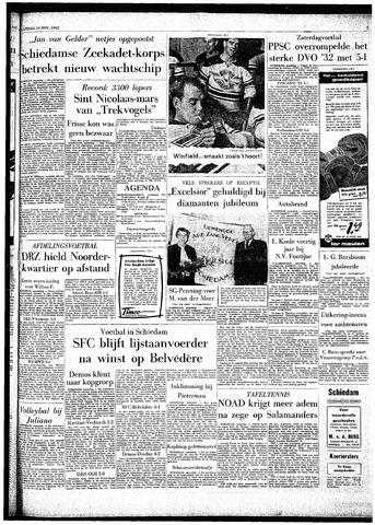 Rotterdamsch Parool / De Schiedammer 1962-11-19