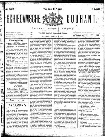 Schiedamsche Courant 1883-04-06