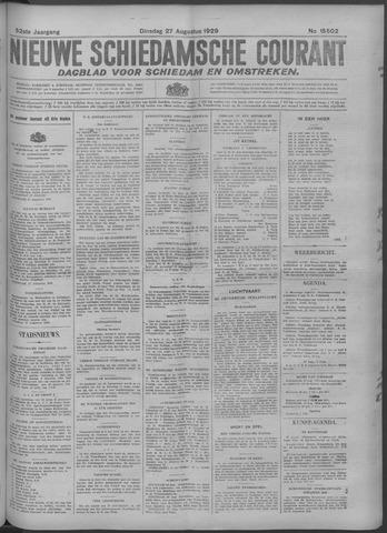 Nieuwe Schiedamsche Courant 1929-08-27