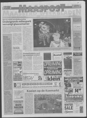 Maaspost / Maasstad / Maasstad Pers 1998-02-04