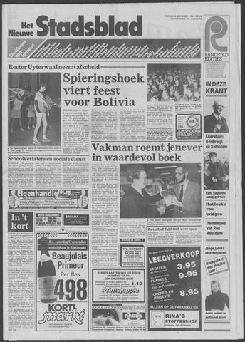 Het Nieuwe Stadsblad 1984-11-16